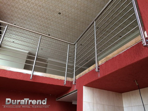 Stainless steel balustrades in Nelspruit
