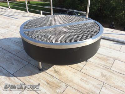 Stainless steel braai grid